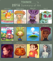 Art Summary 2016 by Teahaku
