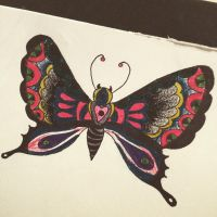 Gothic butterfly by BrutalityRythm