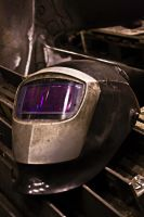 Welding mask by Zimzky