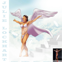 Julie Lockhart On The Stairway To Heaven By Ulics by zenx007