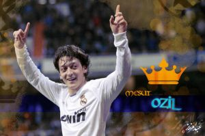 Mesut Ozil is the king by Rider-Q6r