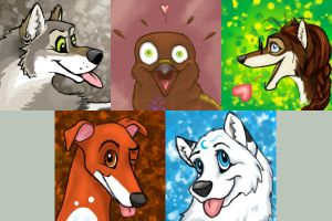 5 icons by silver-dog
