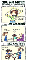 like an artist meme by mangakasusumiya1