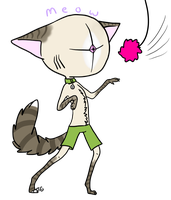 Meow :: My New OC by Perocore