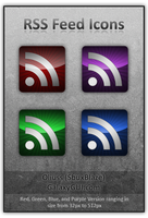 RSS Feed Icons by Oliuss
