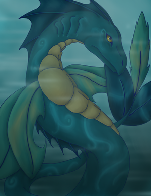Sea Dragon by darkness1247