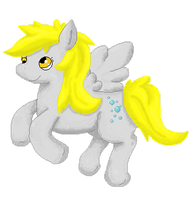 Pixel Derpy by TwitchyTail