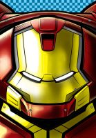 Hulk Buster Ironman by Thuddleston