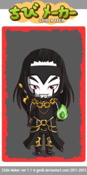 ChibiMaker Grelock the Dungeon Master by Galron2