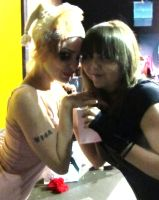 Emilie Autumn and Myself by Distorted-Dream