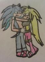 Request - Sonic and Kechi by A5L