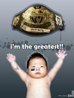 wwe champion by iheb003