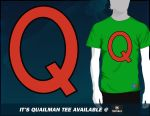 It's Quailman Tee by CreativeArtista