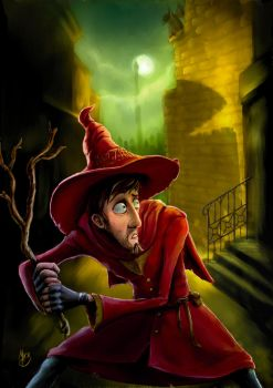 Discworld - Rincewind in Ankh by puggdogg