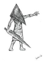 Pyramid head by zSwan