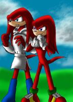 Father and Son Team Locke knux by queenmoreta