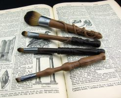 Wizard Wand Makeup Brushes by Dynamicalley