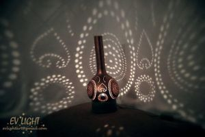INSECTUAN gourd lamp day by EvaLightArt
