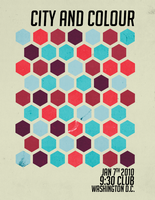 City and Colour Mock Poster by Grace-like-rainx