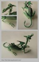 Swamp dragon, details by thai-binturong