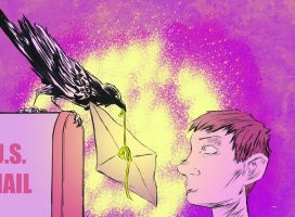 Crow Mail colored by gzapata