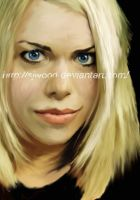 : Billie Piper -Rose Tyler-: by SJWood