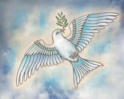 Dove of peace by DreamyNaria