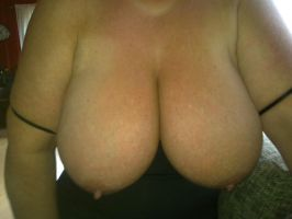 J-cup pic from 2011. Same as the size today. by Cleavage3