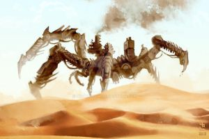 Nomad of the Desert by AizakMoon
