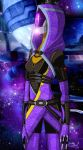 Tali'Zorah vas Normandy by Quilate