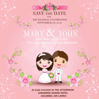 Wedding Invitations Card by Tilantha-hansanath