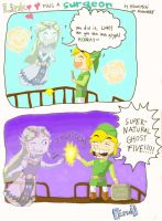 Link pulls a surgeon by HikariMichi