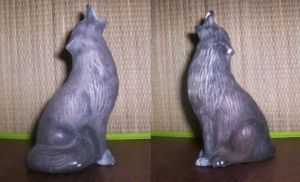 Wolf Sculpture by LeTombeCelui