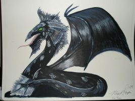 Dragon by NiveK-Rayne