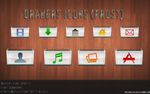 Drawer Icons Frost version by Mheltin