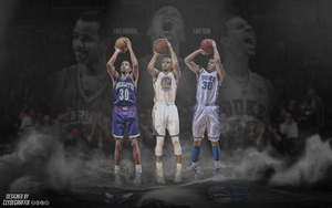 Curry Family 'Like Father, Like Son.' | Wallpaper by ClydeGraffix