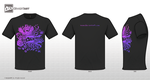 T-shirt-purple by Sunima