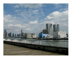 Along the Sumida River by cerenimo