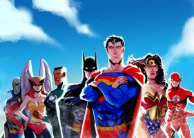Justice League by ouou0704