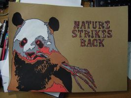 Nature strikes back panda 2 by Uech