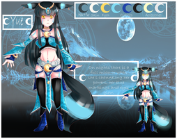 Yue reference sheet by XMireille-chanX