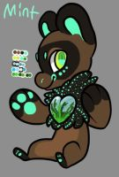 Mint the Terratreasure by NightStar-the-Bobcat