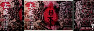 Red Cross Canvas: Japan by cheshirecatart