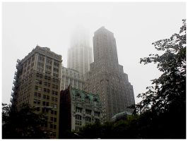 Foggy Towers by Fox82