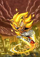 Super Sonic Unleashed by kintobor