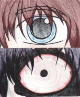 S and I: Jeff and Jeff the killer. by DarkKiss1812