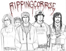 Ripping Corpse...REUNITED by zombiepencil