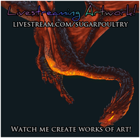 Livestreaming: OFFLINE by sugarpoultry