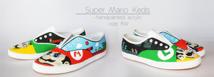 Super Mario Keds by Harpo-exe
