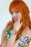 Nami time skip cosplay , One Piece by Mellorineeee